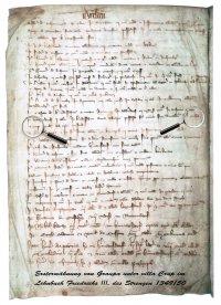 Urkunde Ersterwähnung Graupa