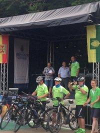 "Empfang des Radfahrerteams ""Tour de Baienfurt 2019"""