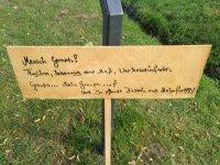 anonymes Schild