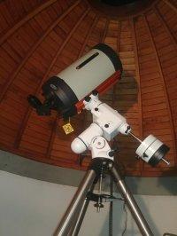 Teleskop der Sternwarte Graupa