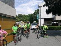 Das Fahrradteam der Tour de Baienfurt