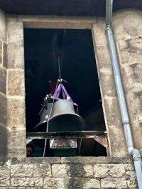Abnehmen der Graupaer Kirchenglocken am 7.10.2020