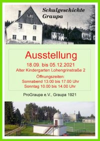 Ausstellung 200 Jahre Schule in Graupa