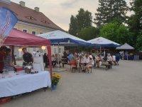 Weinabend im Schlosshof