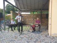 Musik-Duo mit Verstärkung Christian Helm & Fritjof Laubner