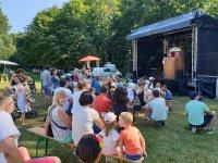 Puppentheater Böhmel auf der Festbühne