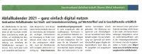 Hinweise zum digitalen Abfallkalender