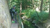 ausgebauter Fahrradweg