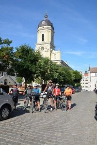 Etappenankunft in Neuburg a. d. Donau