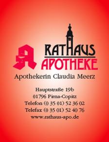 Rathaus Apotheke Pirna